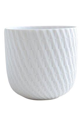 Мужского подсвечник с ароматизированной свечей immortelle BERNARDAUD белого цвета, арт. 1797/22609 | Фото 1