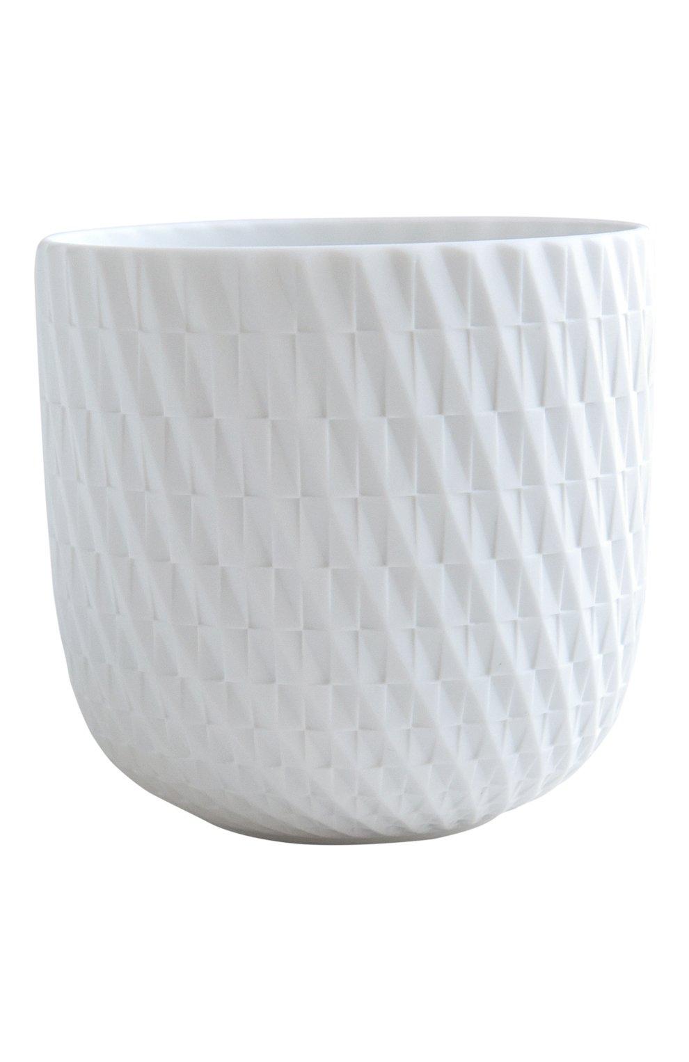 Мужского подсвечник с ароматизированной свечей lys sacré BERNARDAUD белого цвета, арт. 1797/22614 | Фото 1