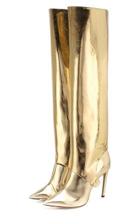 Сапоги Hurley 100 из металлизированной кожи | Фото №1