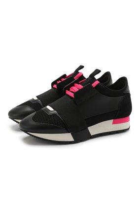 Комбинированные кроссовки Raсe | Фото №1