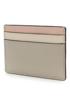 Женский кожаный футляр для кредитных карт snapshot  MARC JACOBS (THE) кремвого цвета, арт. M0014302 | Фото 2