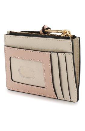 Женский кожаный футляр для кредитных карт snapshot  MARC JACOBS (THE) кремвого цвета, арт. M0014283 | Фото 2
