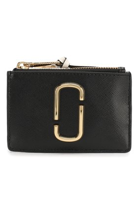 Женский кожаный футляр для кредитных карт snapshot  MARC JACOBS (THE) черного цвета, арт. M0014283 | Фото 1