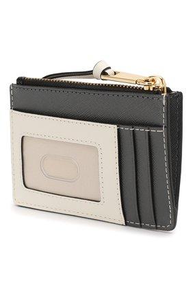 Женский кожаный футляр для кредитных карт snapshot  MARC JACOBS (THE) черного цвета, арт. M0014283 | Фото 2