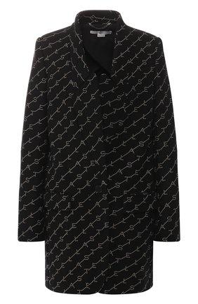 Женское шерстяное пальто STELLA MCCARTNEY черного цвета, арт. 554724/SMB11 | Фото 1