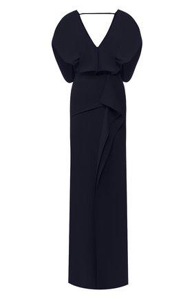 Платье-макси с разрезом | Фото №1