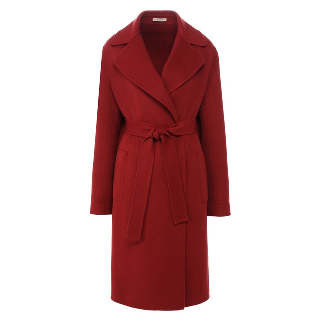 Кашемировое пальто с поясом Bottega Veneta