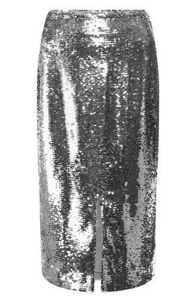 Юбка-карандаш с пайетками | Фото №1