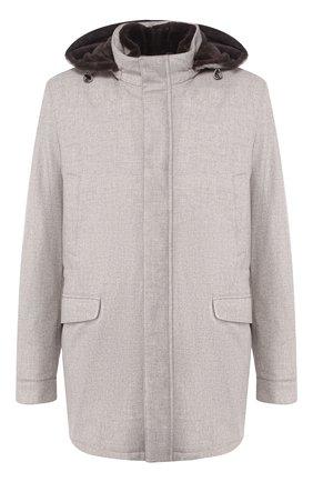 Куртка из смеси шерсти и кашемира | Фото №1