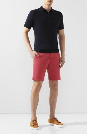 Мужские хлопковые шорты POLO RALPH LAUREN красного цвета, арт. 710737075 | Фото 2