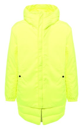 Куртка с капюшоном Diesel желтая | Фото №1