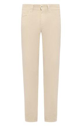 Мужские джинсы LORO PIANA светло-бежевого цвета, арт. FAG1317 | Фото 1