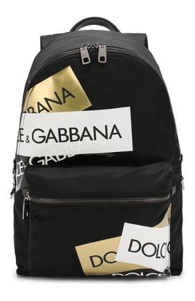 Текстильный рюкзак Street с кожаной отделкой | Фото №1