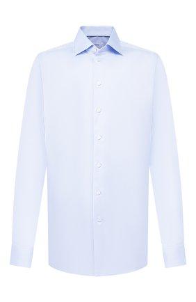 Мужская хлопковая сорочка с воротником кент ETON голубого цвета, арт. 3000 79313 | Фото 1