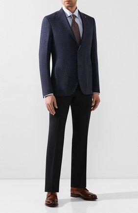 Мужская хлопковая сорочка с воротником кент ETON голубого цвета, арт. 3000 79313 | Фото 2