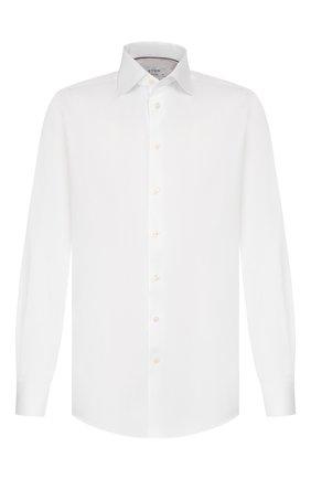 Мужская хлопковая сорочка с воротником кент ETON белого цвета, арт. 3000 79313 | Фото 1