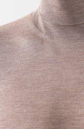 Водолазка из смеси кашемира и шелка | Фото №5