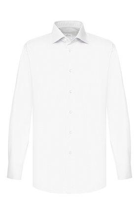 Мужская хлопковая сорочка BRIONI белого цвета, арт. RCLU1Y/P7003 | Фото 1