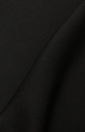 Мужской шелковый платок TOM FORD черного цвета, арт. TFZ90/TF312 | Фото 2