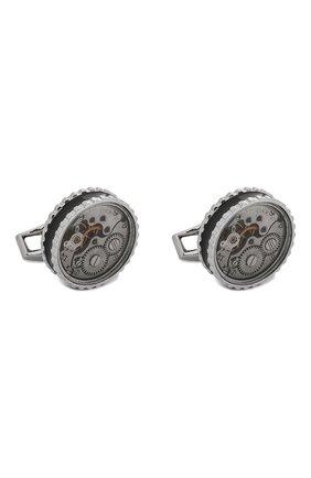 Мужские запонки TATEOSSIAN серебряного цвета, арт. CL7701 | Фото 1