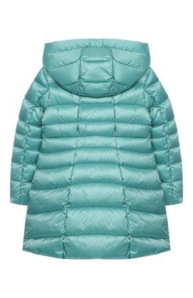 Пуховое пальто с капюшоном | Фото №2