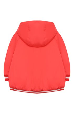 Детского пальто с капюшоном MONCLER ENFANT красного цвета, арт. E1-951-46888-85-54155 | Фото 2
