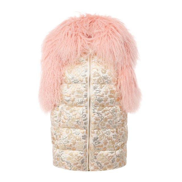 Пуховый жилет Dolce & Gabbana