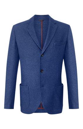 Пиджак из смеси шелка и кашемира | Фото №1