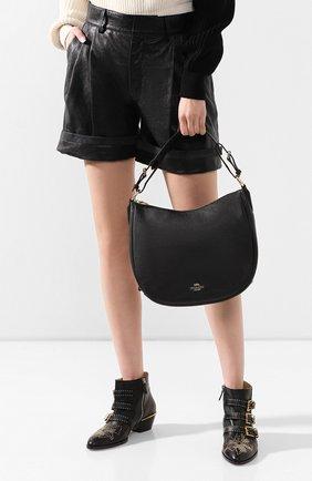 Женская сумка sutton COACH черного цвета, арт. 35593 | Фото 2