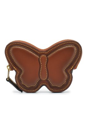 Кожаный футляр для монет Butterfly | Фото №1
