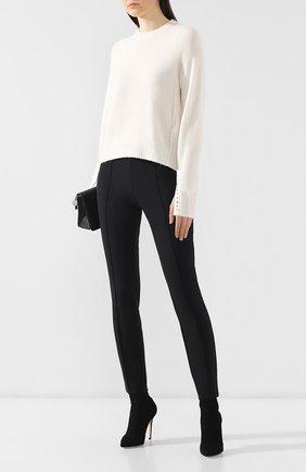 Женские брюки со стрелками ESCADA SPORT черного цвета, арт. 5018740 | Фото 2