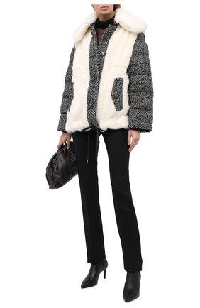Женская меховая куртка DOLCE & GABBANA белого цвета, арт. I2049Z/FUPLH | Фото 2