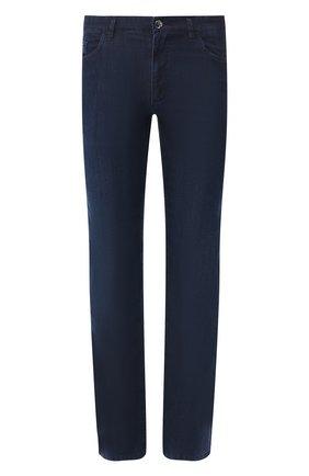 Мужские джинсы прямого кроя ZILLI темно-синего цвета, арт. MCR-00052-DEUL1/R001 | Фото 1