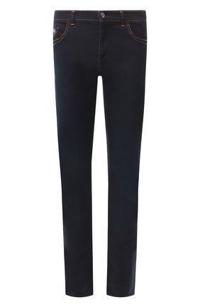 Мужские джинсы прямого кроя ZILLI темно-синего цвета, арт. MCR-00040-DESA1/R001 | Фото 1