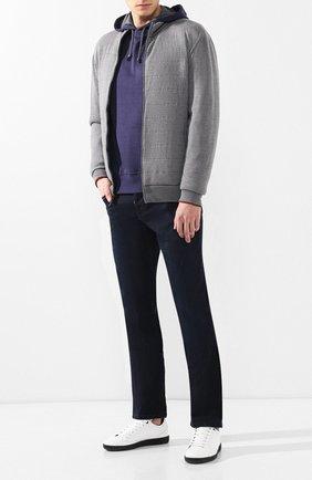 Мужские джинсы прямого кроя ZILLI темно-синего цвета, арт. MCR-00040-DESA1/R001 | Фото 2