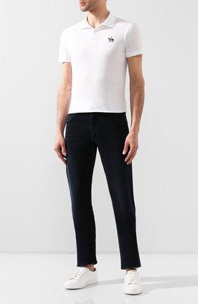 Мужские джинсы прямого кроя CITIZENS OF HUMANITY темно-синего цвета, арт. 6092-927 | Фото 2