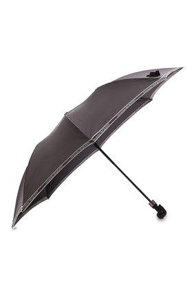 Мужской складной зонт ALEXANDER MCQUEEN черно-белого цвета, арт. 557708/4A37Q | Фото 2