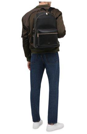 Мужской кожаный рюкзак office DOLCE & GABBANA черного цвета, арт. BM1616/AC954 | Фото 2