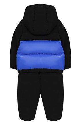 Детский комплект из пухового комбинезона и куртки MONCLER ENFANT синего цвета, арт. D2-951-70345-85-54543 | Фото 2
