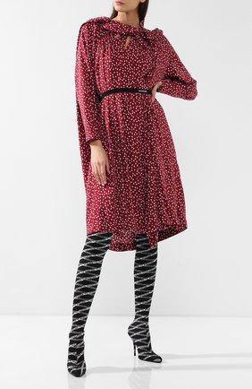 Текстильные ботфорты Round | Фото №2