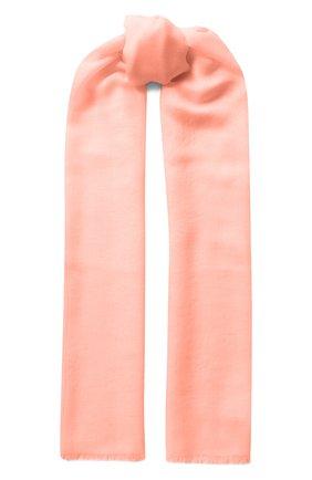 Мужские шарф aria из смеси кашемира и шелка LORO PIANA розового цвета, арт. FAI0704 | Фото 1