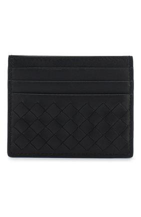 Кожаный футляр для кредитных карт с плетением intrecciato | Фото №1
