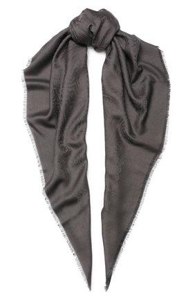 Платок из смеси шерсти и шелка | Фото №1