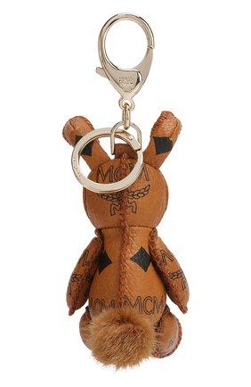 Женский брелок rabbit MCM коричневого цвета, арт. MYZ 5AVI38 | Фото 2