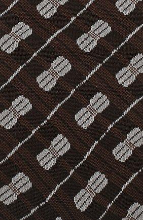 Женские хлопковые носки MARNI коричневого цвета, арт. SKMC0027Q0/FC185 | Фото 2
