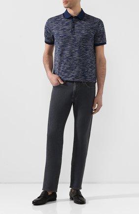 Мужские кожаные пенни-лоферы BARRETT черного цвета, арт. 171U064.17/CERV0 | Фото 2