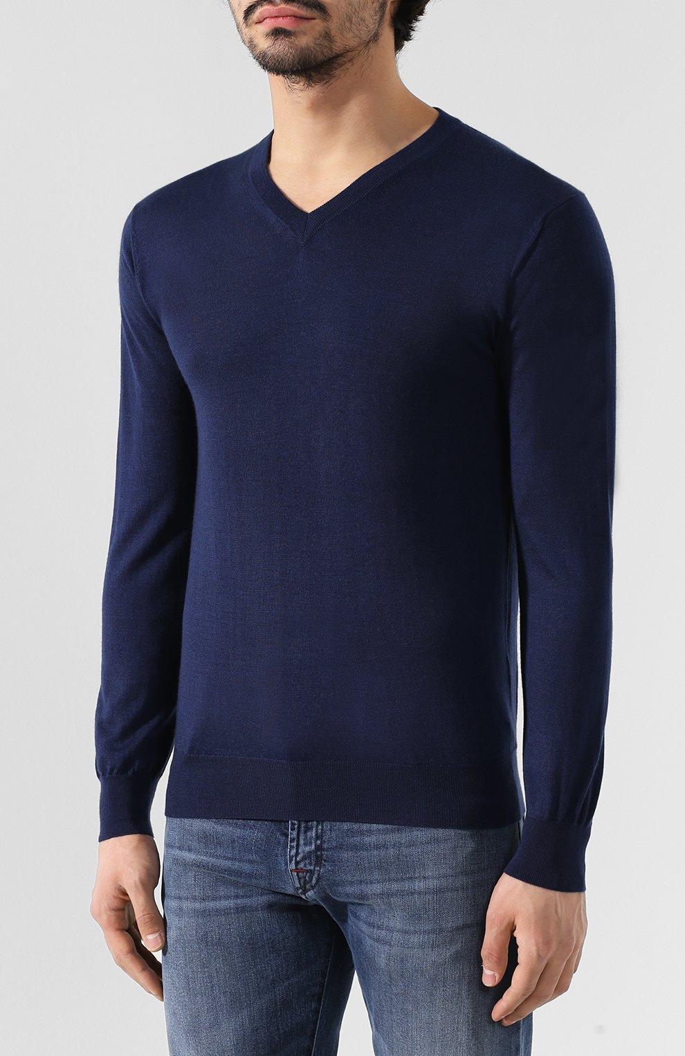 Пуловер из смеси кашемира и шелка   Фото №3