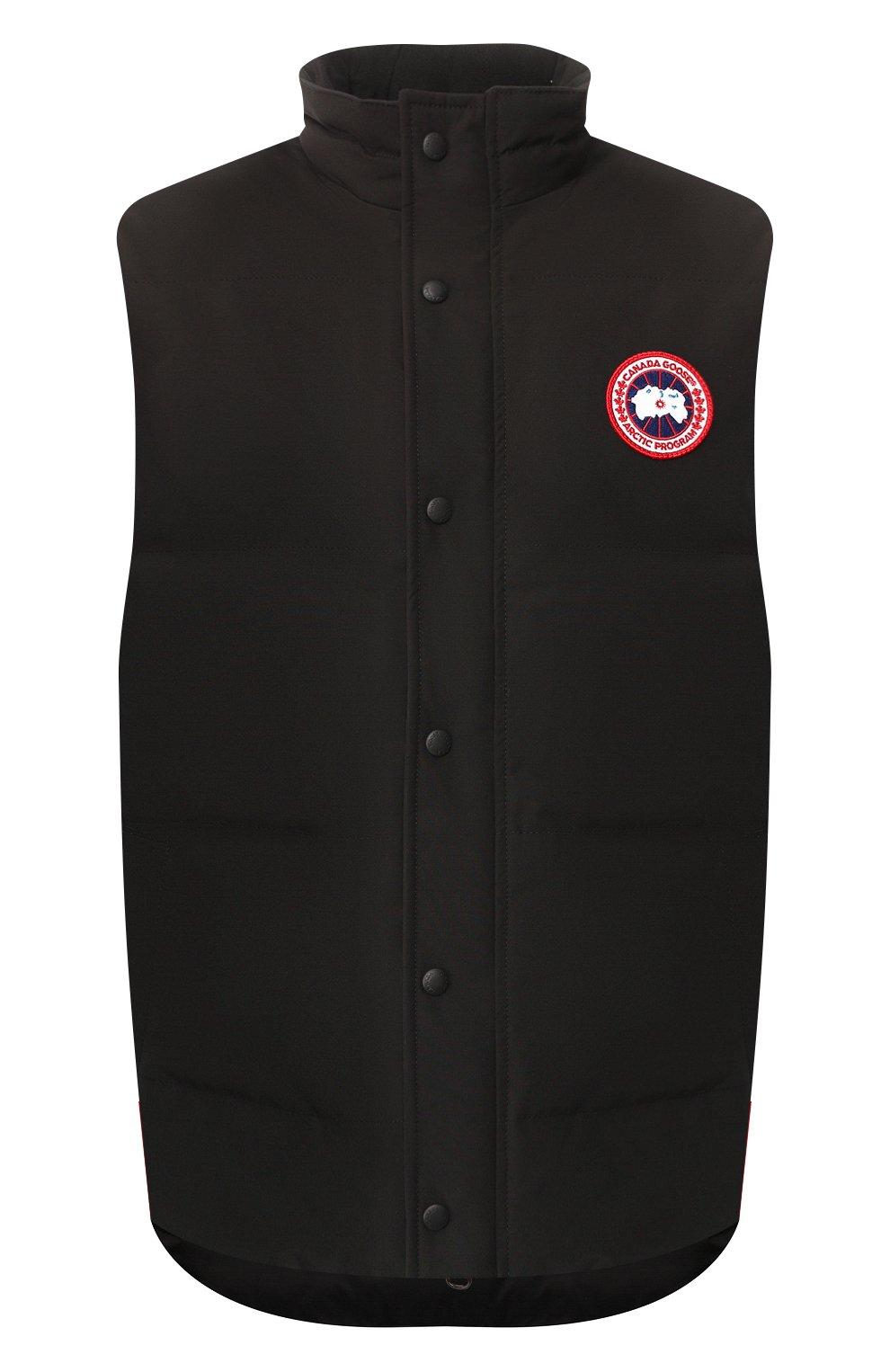 Мужской пуховый жилет garson vest CANADA GOOSE черного цвета, арт. 4151M | Фото 1