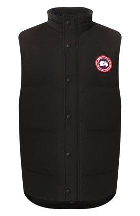Мужской пуховый жилет garson vest CANADA GOOSE черного цвета, арт. 4151M   Фото 1