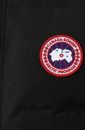 Мужской пуховый жилет garson vest CANADA GOOSE черного цвета, арт. 4151M | Фото 5